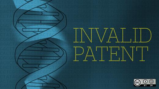 Invalid gene patent