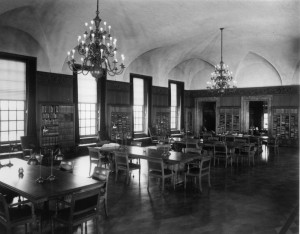 The Markus Library in 1954.